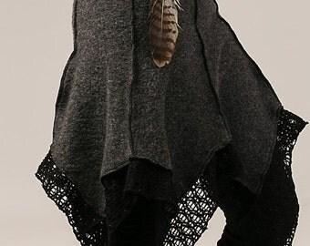 February Sale 20% Off Wool Winter Tulip Pixie Skirt - Cozy Warm Skirt