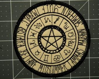 Wheel of Seasons Iron on Patch