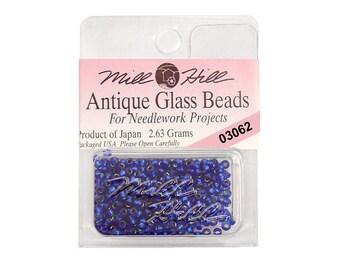 Blue Velvet Seed Beads 11/0 Mill Hill 03062
