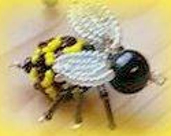 15 beaded bumble bee's