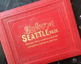 Seattle Souvenir Book 1890