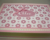 Girl's Keepsake Box Personalized Keepsake Box- Birthday, Baby Naming, Adoption