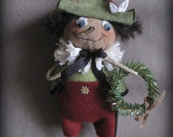 Pinocchio Christmas Ornament E-PATTERN by cheswickcompany