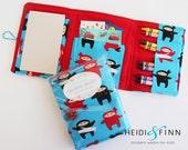 NEW Crayon Wallets coloring wallets BOY styles, drawing sets art kits
