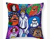 40% Off - Star Wars Art Pillow -  - Throw Pillow by Heather Galler (HG852)