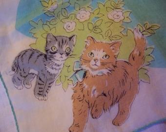 sweet little kitties hanky