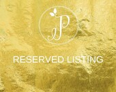 Reserved Listing For Ashley
