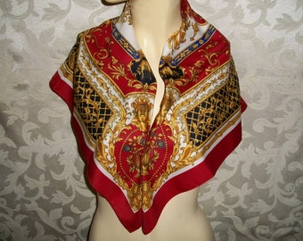 Art Scarf Made In Italy