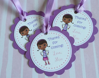 Doc McStuffins Gift Tags, Thank You Tags