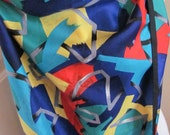 "Perry Ellis // Beautiful Colorful So Soft Silk Scarf // 18"" x 66"" Long // Best of the Best"