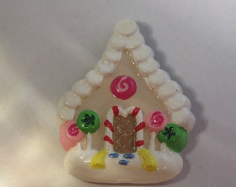 Ginger Bread House Magnet or Ornament