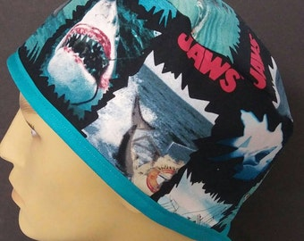 Jaws men's scrub cap