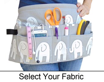 Tool Belt • Women's Tool Belt • CUSTOM • QUALITY • Durable & Classy • Feminine Tool Belt • Choose Your Fabric • Teacher • Nurse