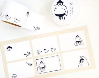 Ohagiyama Sticker Roll saito