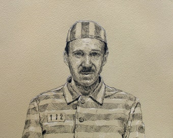 Gustave H. The Grand Budapest Hotel, Original Drawing