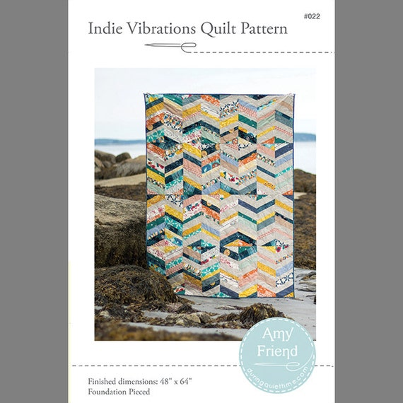 Indie Vibrations Quilt Pattern