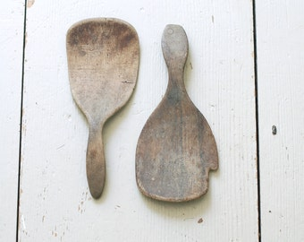 ANTIQUE Butter Paddles - Set of 2