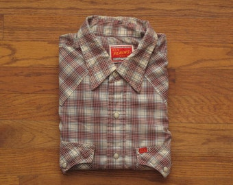 mens vintage Ely plains western shirt