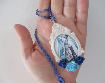 Hatsune Miku Necklace - Vocaloid Necklace