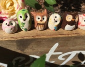RESERVED- Honeydukes Legendary Owl Sweets : Harry Potter Inspired Owlery Clay Miniatures and Totems