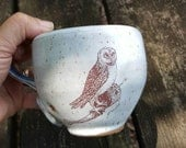 RESERVED Pottery cup illustrated and Hymn Be Thou my Wisdom, and Thou my true Word; 100% proceeds for Children's school AFRICA