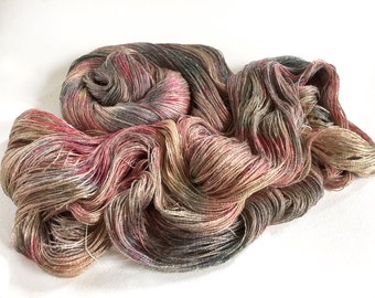 Persuasion Silk Linen Lace Yarn.  Seawashed Ships.