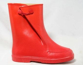 1950s Rain Boots Etsy