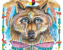 COLORING BOOK Animal Spirits Coloring Book for you to Color and be the ArTiSt South West Style Art for ALL Ages