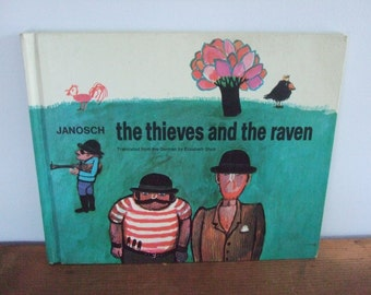 Vintage The Thieves and the Raven Janosch Book