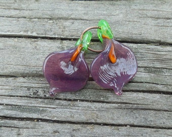 Purple Calla Lilies by Mystic Moon Beads SRA U5