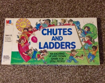 Vintage 1979 Chutes and Ladders Board Game