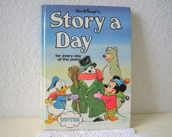 Children's Book: Walt Disney's STORY A DAY for every day of the year. Winter, 1978