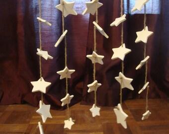 One Strand of Ceramic Stars
