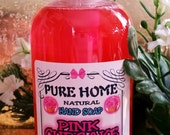 New--PINK CUPCAKE--Liquid Hand soap--Natural Handamde from Scratch--EXTRA Moisturizing