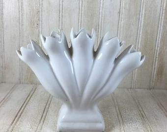 Vintage Leart Portugal Finger Vase
