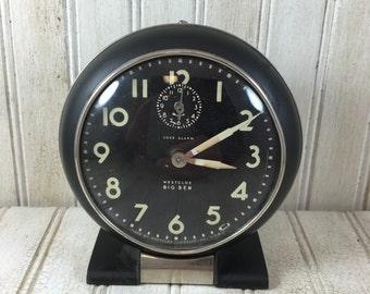 Vintage Westclox Big Ben Alarm Clock (non-working)