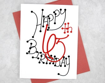 65th Birthday Card - Milestone Birthday - Gift For Woman - Card For Man