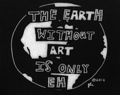 Art Punk Patches Punk Patch Print Picture DIY Earth Humor Funny Silly Riot Grrrl Makers Crust Creative Artists World Truth Small Cloth Patch