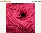 CLEARANCE Cascade 220 Superwash Machine Washable Wool Yarn in FLAMINGO PINK, Color 903