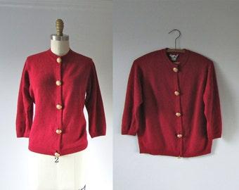 vintage cashmere cardigan sweater