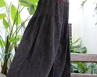 Wide Leg Pants - BK1610-02 Black