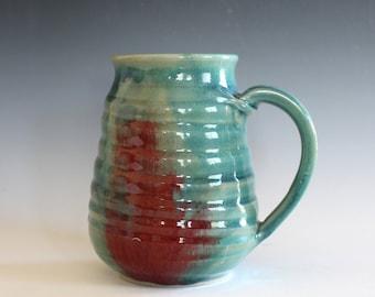 EXTRA LARGE Mug, 25 oz, handmade ceramic cup, handthrown mug, ceramic stoneware pottery mug unique coffee mug ceramics and pottery