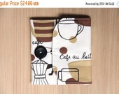 final CLEARANCE Memory Card Wallet, CF Holder - Coffee and Brown - holds 8 cards - Ready to Ship