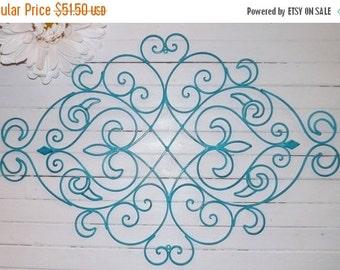 On Sale Metal Wall Decor/ Fleur De Lis / Wrought Iron Wall decor / Shabby Chic Decor