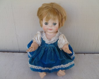 Vintage Vogue Sleepy Eye Collectable Doll  1965