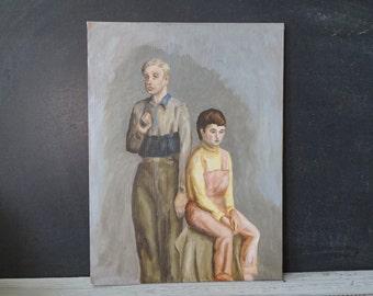 Original Portrait of Two