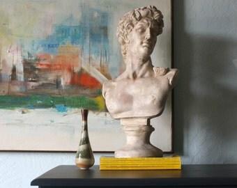 Vintage Bust / Plaster Handmade