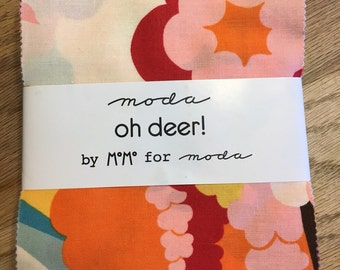 Oh Deer charm pack by MoMo for Moda