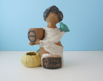Vintage Collectible Metlox Poppytrail Poppet Mother Nature