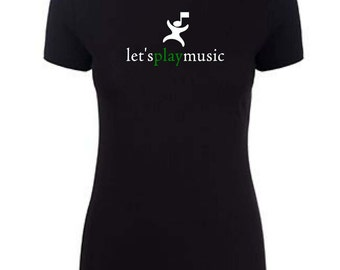 3300L letsplaymusic teacher shirt cotton